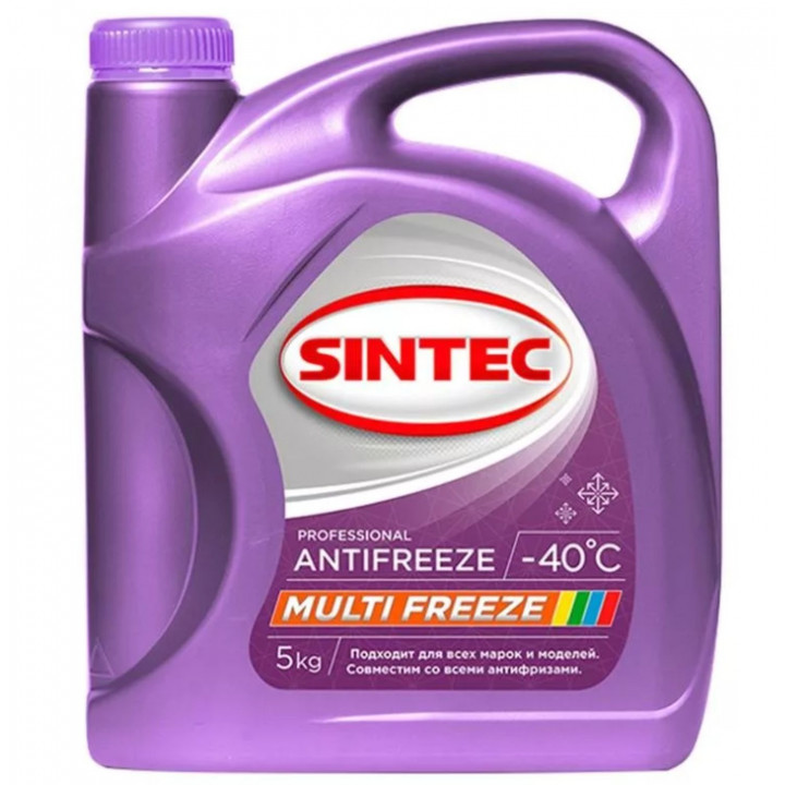 SINTEC Multifreeze 5 кг    SINTEC  754.00 руб.